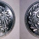 1917 Austrian 20 Heller World Iron Coin - Austria - World War I Era