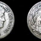 1912-D Barber Dime Silver