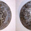 1852-VIR Italian States Papal States 5 Biaocchi World Coin - Pius IX
