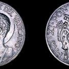 1933-1934 Vatican City 20 Centesimi World Coin - Catholic Church Italy- Pius XI