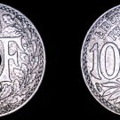 1930 French 10 Centimes World Coin - France