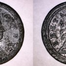 1723 Great Britain Half (1/2) Penny  World Coin - UK - George I