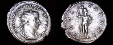 238-244AD Roman Imperial Gordian III AR-24 Antoninianus Coin - Ancient - RIC-84