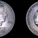 1972-A German Democratic Republic 20 Mark Coin- East Germany- Fred. Von Schiller
