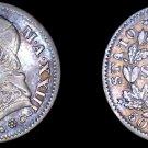 1869-XXIIIR Italian States Papal States 10 Soldi World Silver Coin - Pius IX