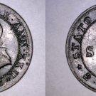 1867-XXIIR Italian States Papal States 1/2 Soldo World Coin - Pius IX