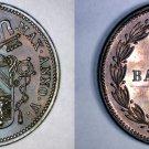 1851-VR Italian States Papal States 1 Baiocco World Coin - Pius IX