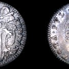 1755-XVI Italian States Papal States 1 Grosso World Silver Coin - Benedict XIV