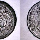 1677-II Italian States Papal States Gubbio 1 Quattrino World Coin - Innocent XI
