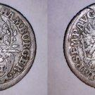 1727-IHL German States Hamburg 2 Schilling World Silver Coin