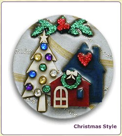 Christmas Pin by Lucinda