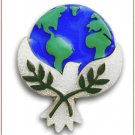 Peace Pins by Lucinda