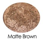 Matte Brown All Purpose Mineral Powder Sample