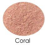 Coral Semi-Matte Mineral Blush Sample Baggie