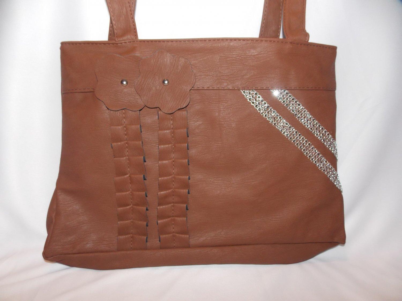 Brown Chun Handbag