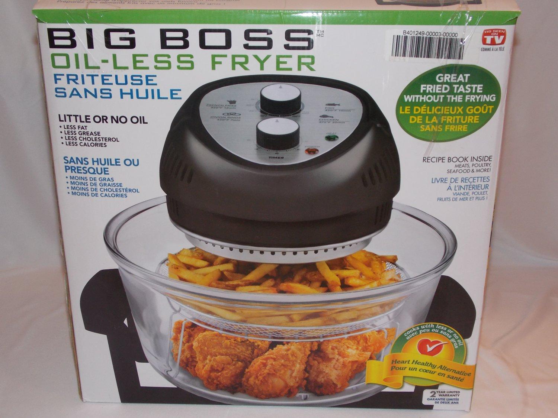 Big Boss Oil-Less Fryer (H104)