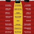 Vinteja charts of - Smart Phone Guide B - A3 Paper Print