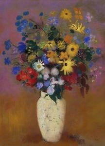 Odilon Redon - Vase of Flowers - A3 Paper Print