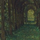 The Green Alley, 1905 - 30x40 IN Canvas