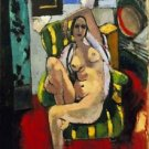 Henri Matisse - Odalisque with a Tambourine - A3 Poster