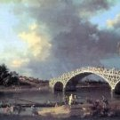 Bridge by Canaletto - A3 Poster