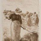 Women Haying, 1890 - 24x18 IN Canvas