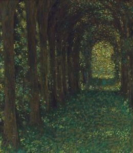 The Green Alley, 1905 - 24x18 IN Poster