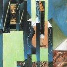 Guitar [2] by Juan Gris - A3 Poster