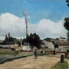 Landscape with Factory, 1867 - A3 Poster