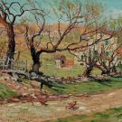 Willows in Spring, 1913 - A3 Poster