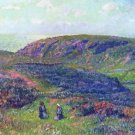 Conversation in the Moor, 1900 - A3 Poster
