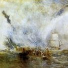 Whalers [1] by Joseph Mallord Turner - A3 Poster