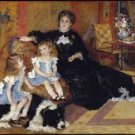 Madame Georges Charpentier and Her Children, 1878 - A3 Poster