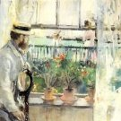 1875 Eugene Manet  in the Island of Wight - A3 Poster