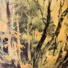 Birch woods with Gypsies by Joseph Mallord Turner - A3 Poster
