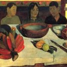 Still Life with Banana by Gauguin - 24x18 IN Canvas