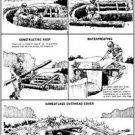 Vinteja charts of - Building a Foxhole - A3 Paper Print