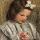 Head of a Girl, 1893 - 24x18 IN Canvas