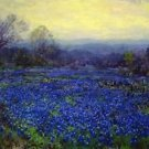 Untitled (aka Field of Bluebonnets) - A3 Poster