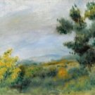 Landscape with Trees and the Sea, 1900 - A3 Poster