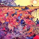 The red vines by Van Gogh - A3 Poster