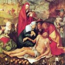 Lamentation of Christ [1] by Durer - 24x18 IN Canvas