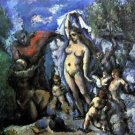 Temptation of St. Anthony by Cezanne - A3 Poster