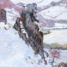 The Echo Rock in Winter, 1890 - A3 Poster