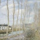 The Channel of Loing at Moret, 1892 - Poster (24x32IN)