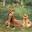 1884  In  the Gardens of Maurecourt - Poster (24x32IN)