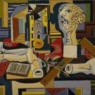 Pablo Picasso - Studio with Plaster Head - 24x18 IN Canvas