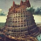 Tower of Babel [1] by Pieter Bruegel - 24x18 IN Canvas