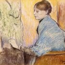 Mme Henri Rouart before a  statue by Degas - Poster (24x32IN)