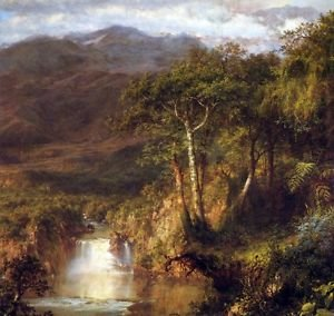 Heart of the Andes Detail by Frederick Edwin Church - A3 Poster